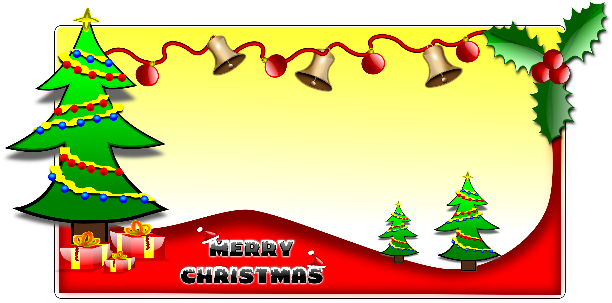 Christmas Greeting Clipart Awesome Graphic Library
