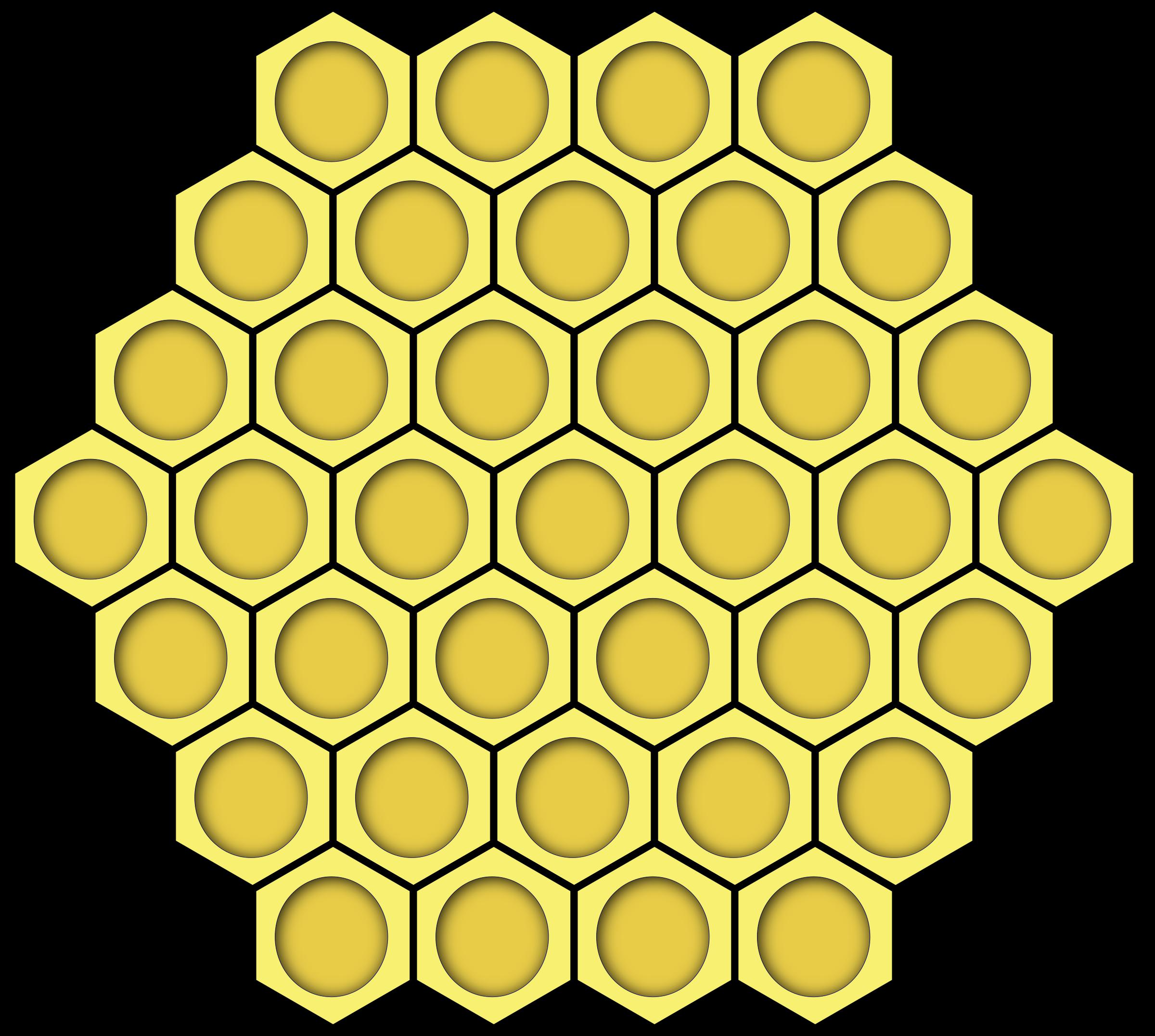 Clipart - honeycomb