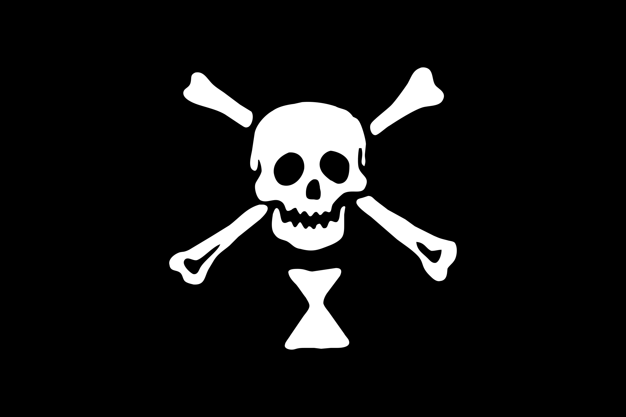 pirate flag - Emanuel Wynne by Anonymous