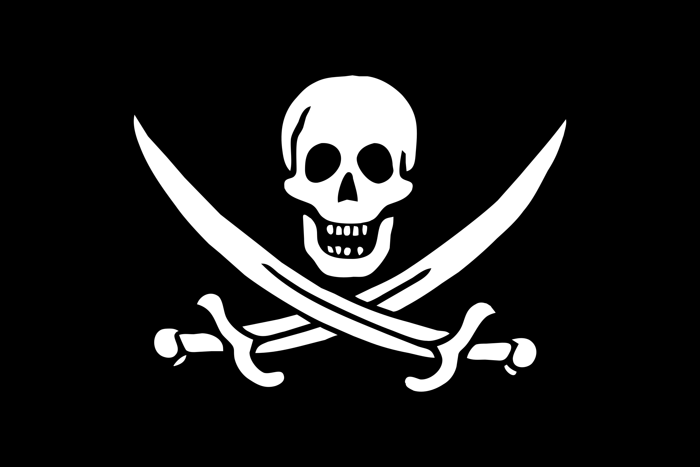 pirate flag - Jack Rackham by Anonymous