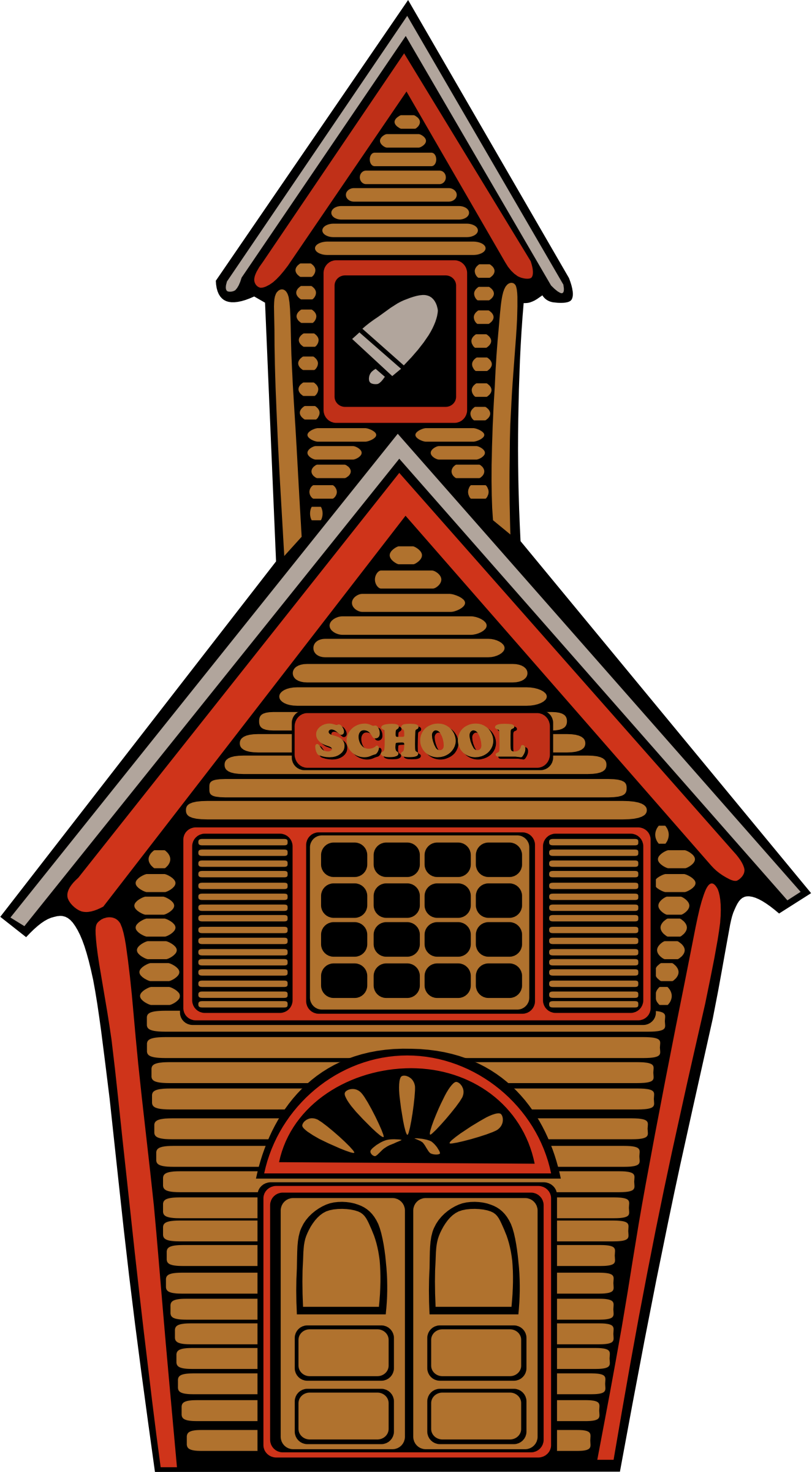 Country school by Anonymous