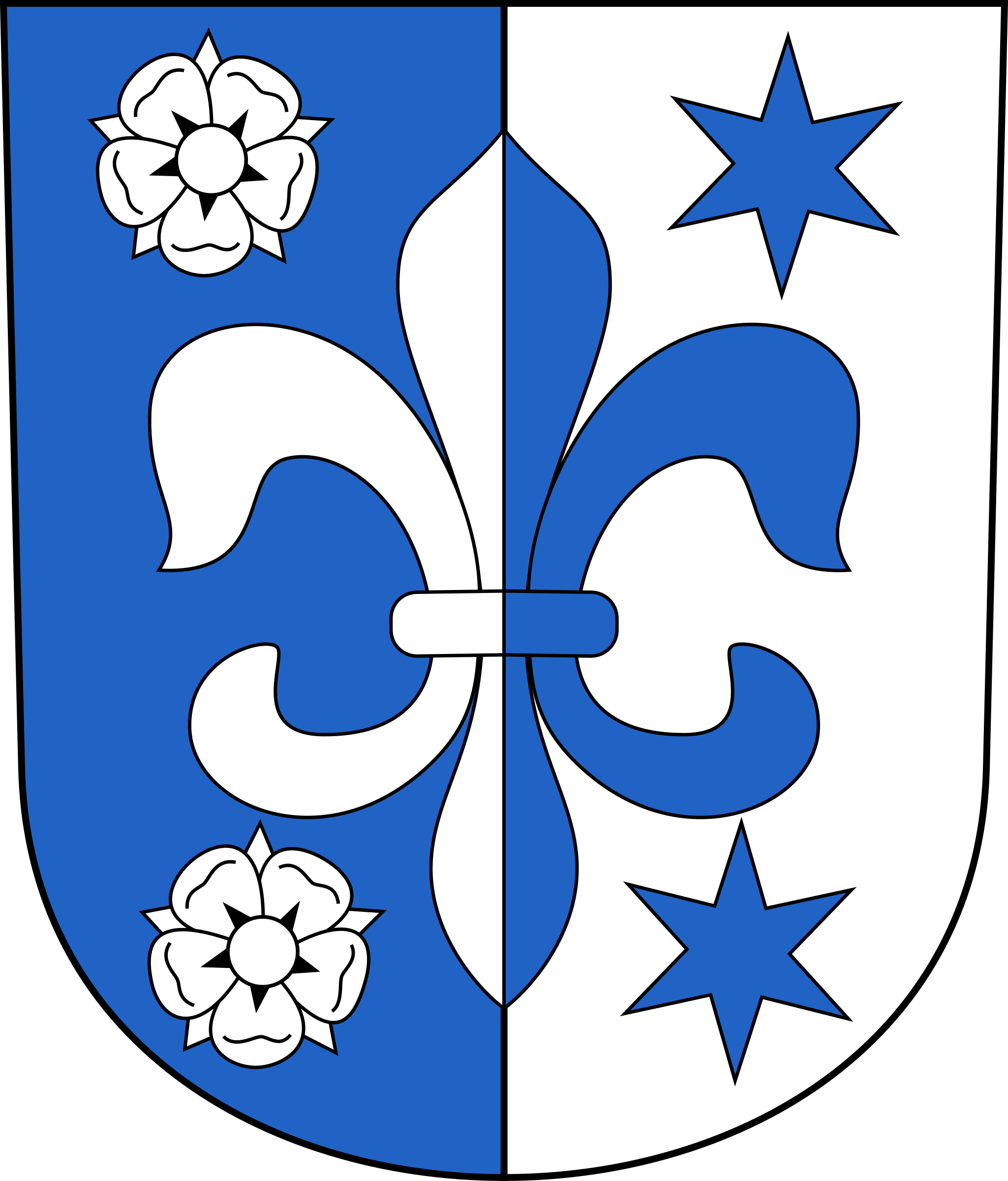 Swiss Fehraltorf Coat of arms as Shield by wipp