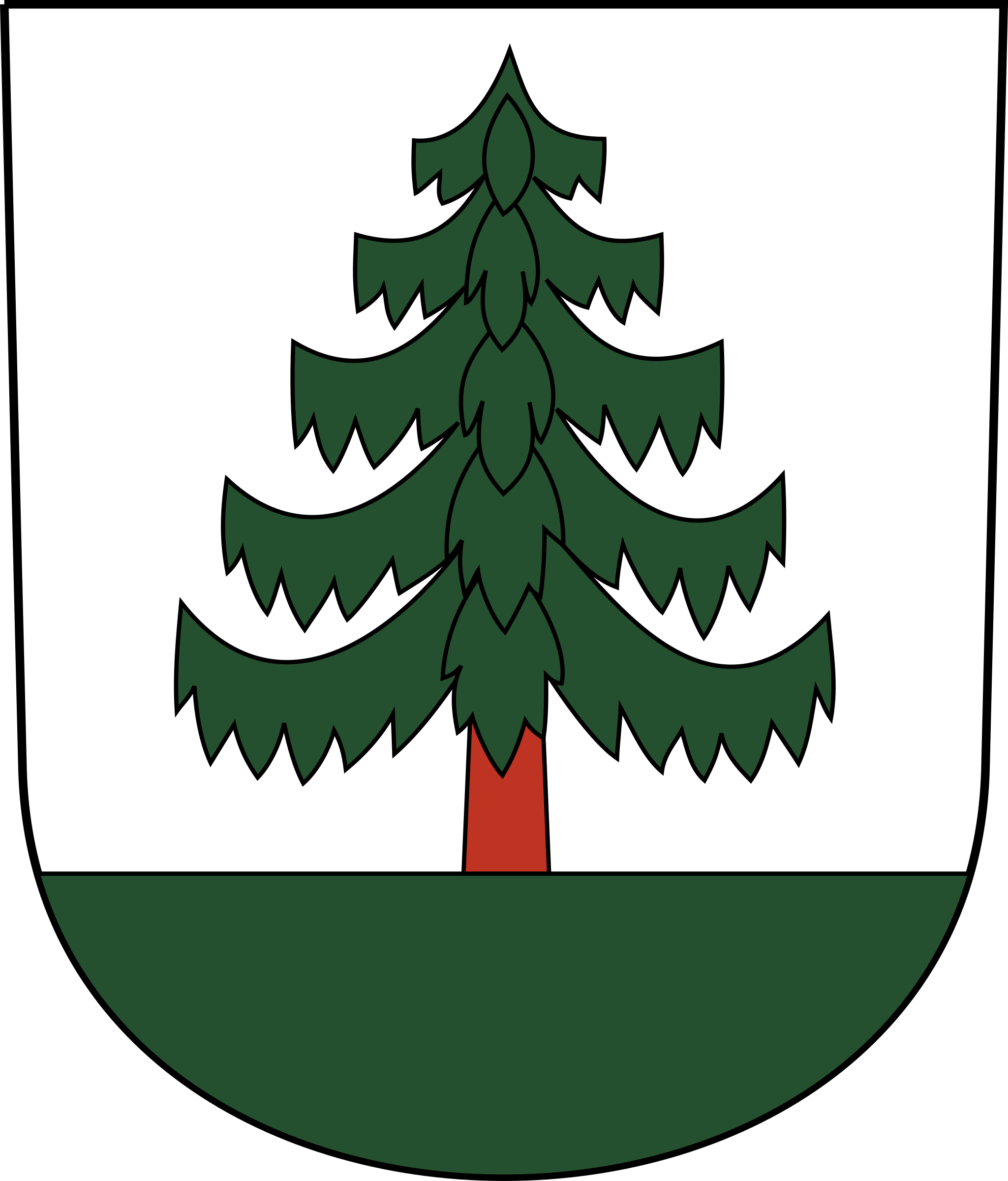 Swiss Bauma Coat of Arms as Shield by wipp