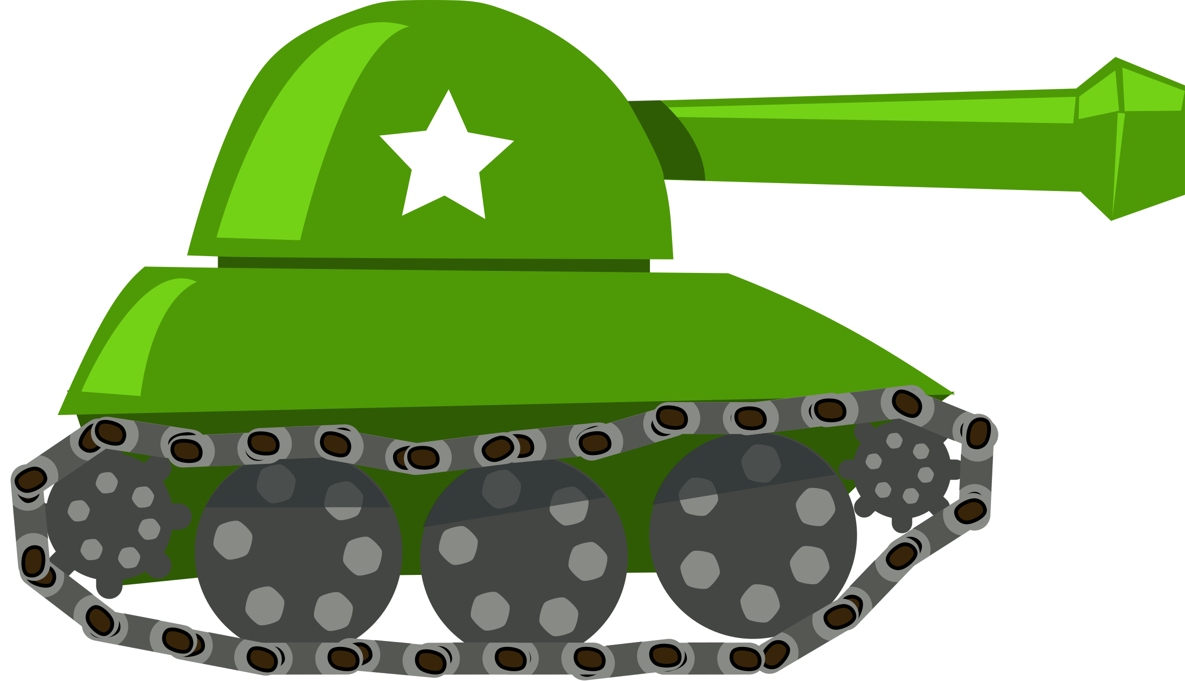 cartoon tank by rg1024