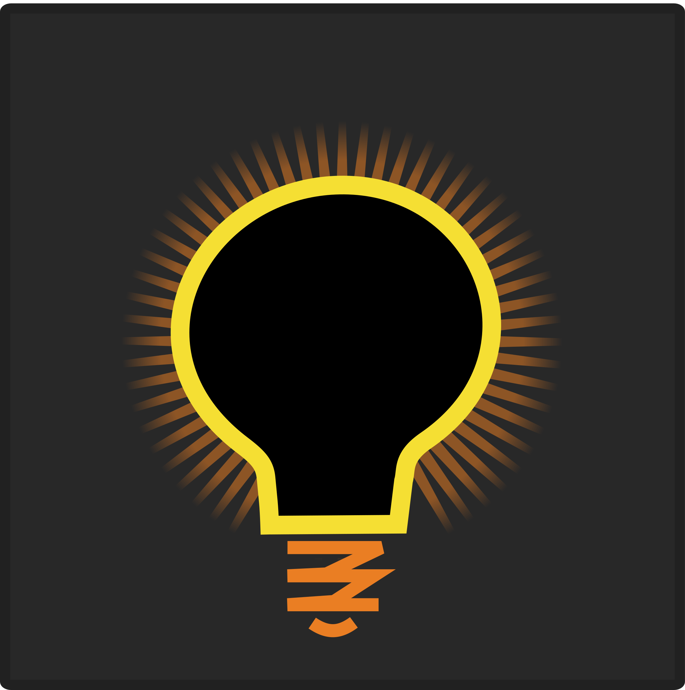 Bulb icon by ben