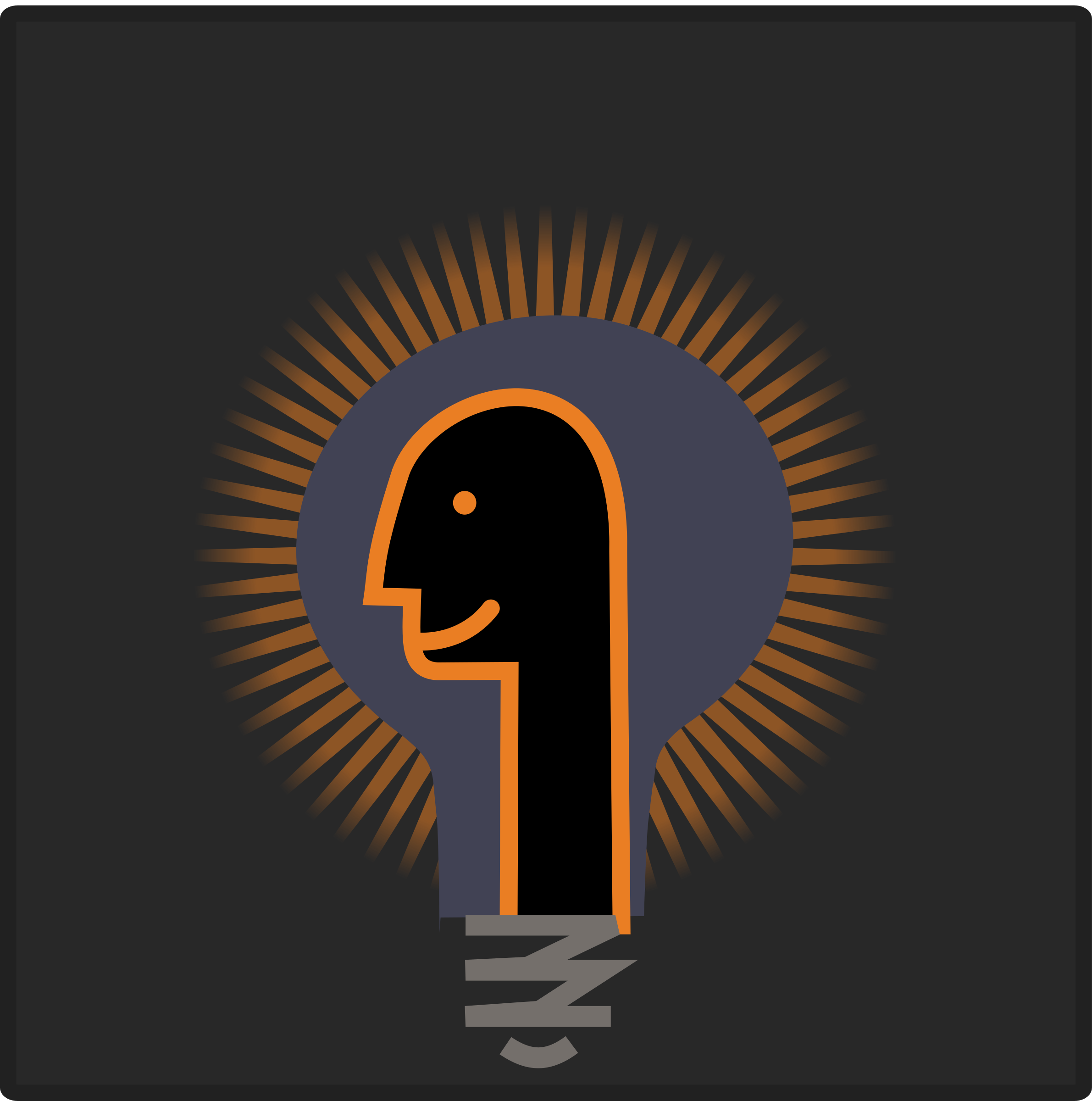 Psy bulb icon by ben