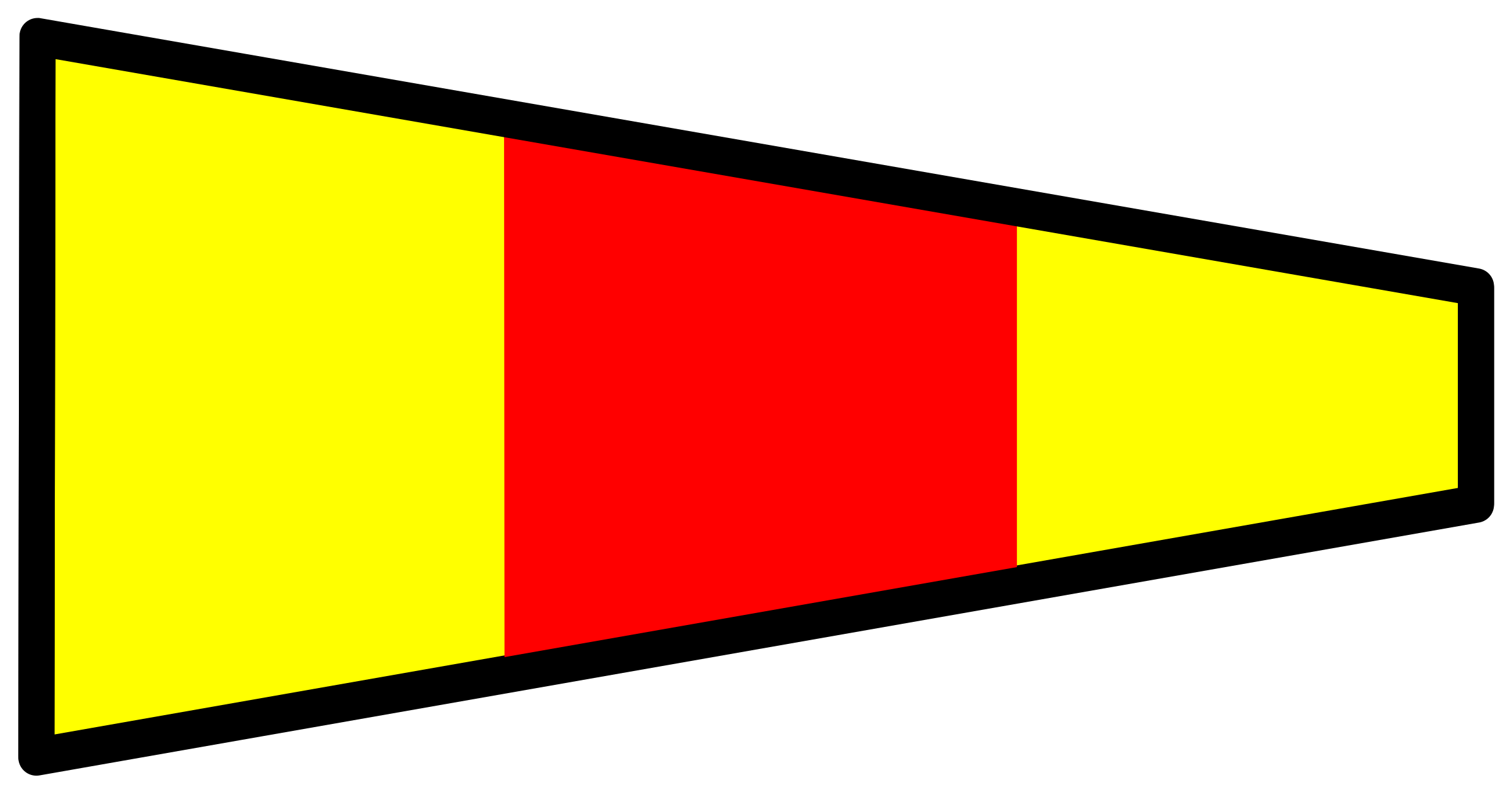 signal flag 0 by Anonymous