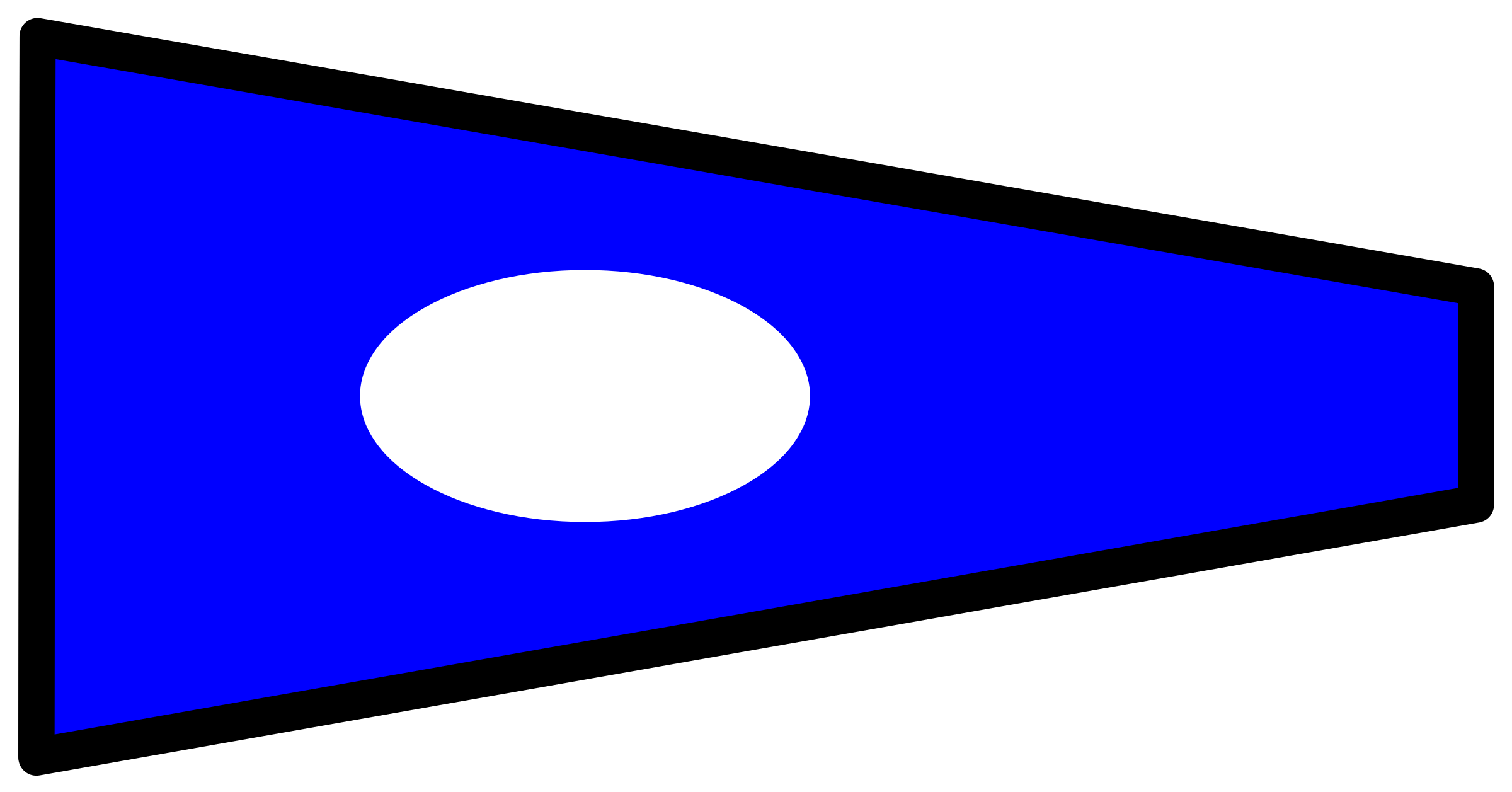 signal flag 2 by Anonymous
