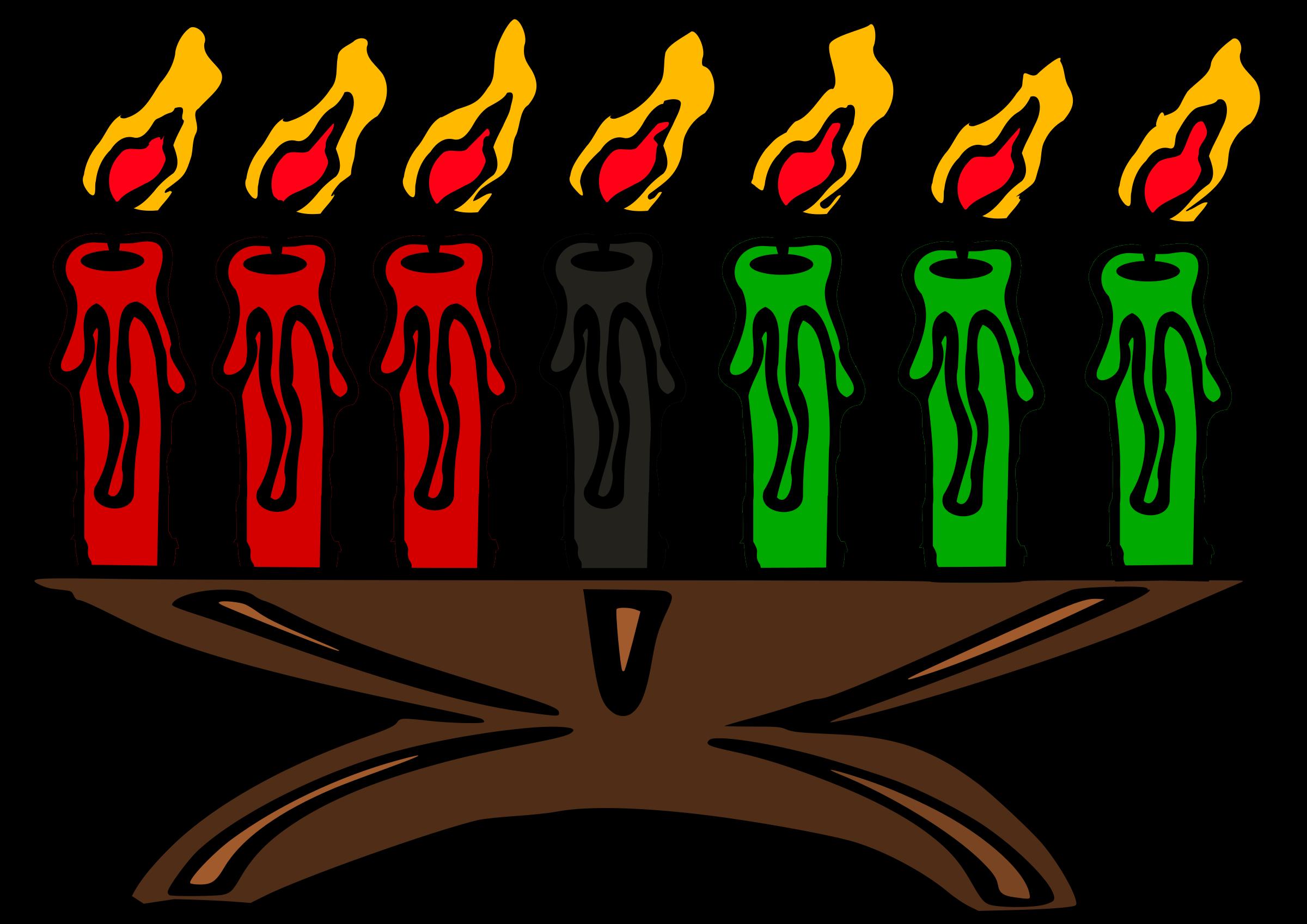 clipart kwanzaa kinara rh openclipart org happy kwanzaa clipart kwanzaa candles clipart