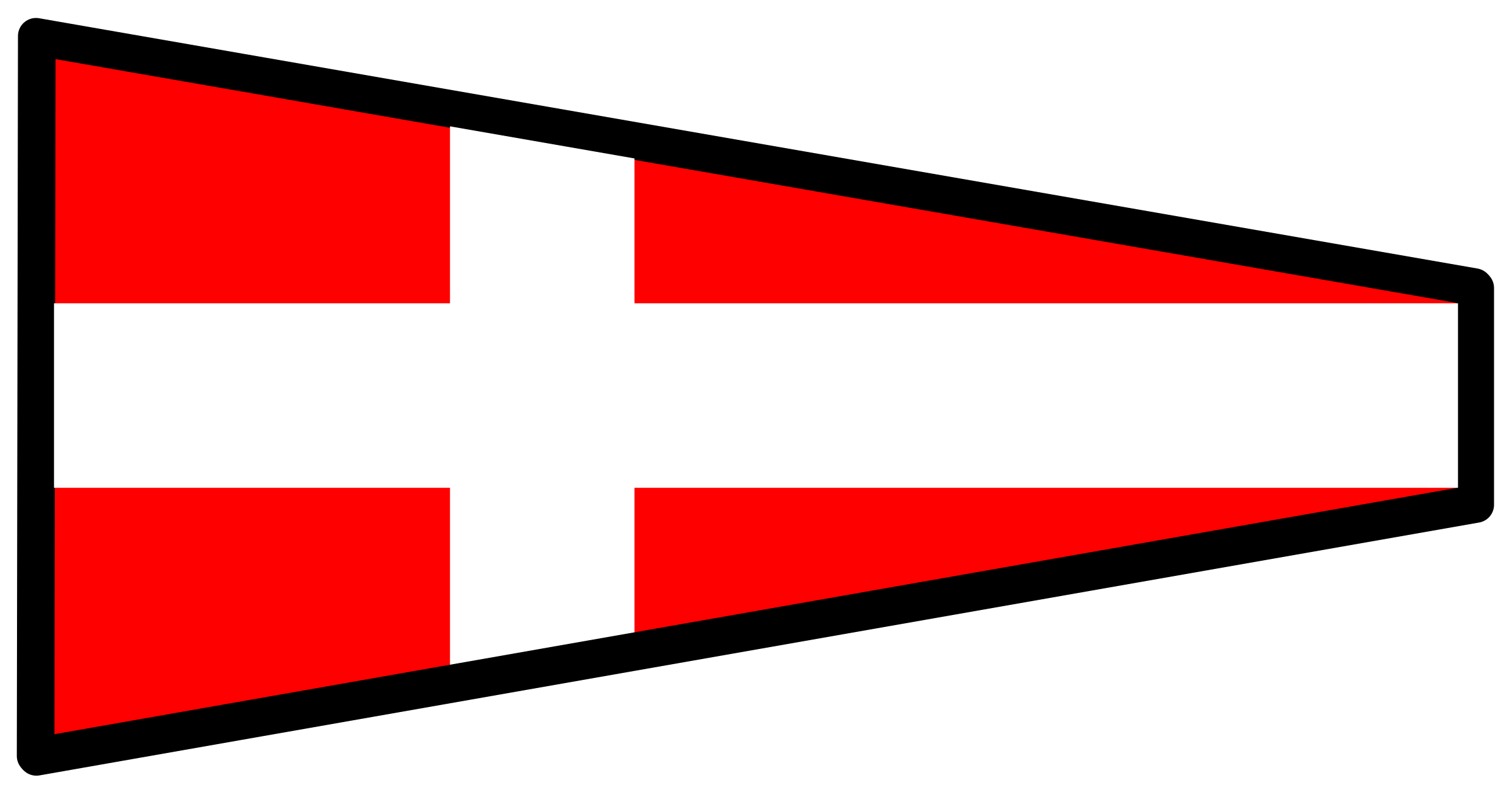 signal flag 4 by Anonymous