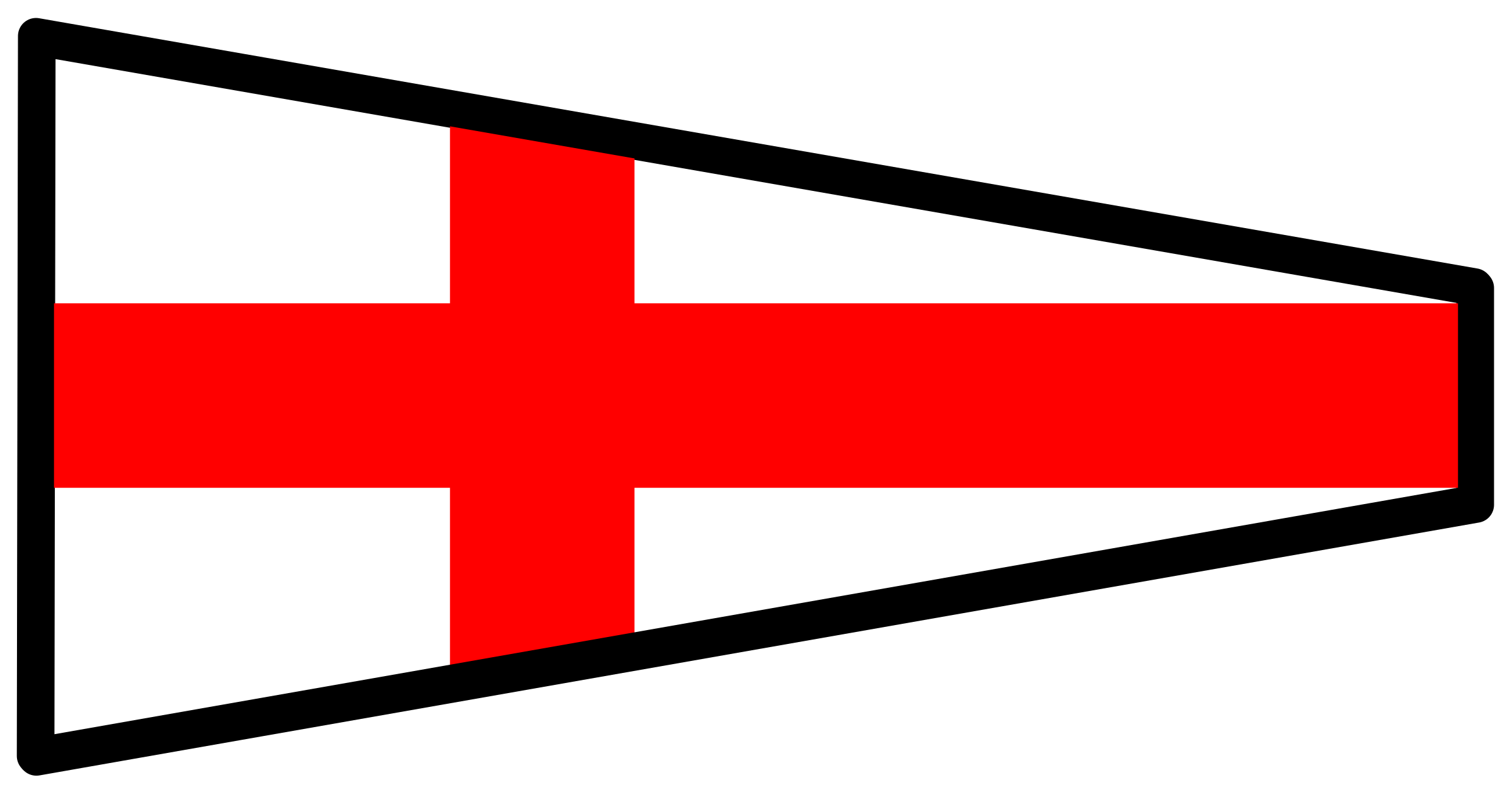 signal flag 8 by Anonymous