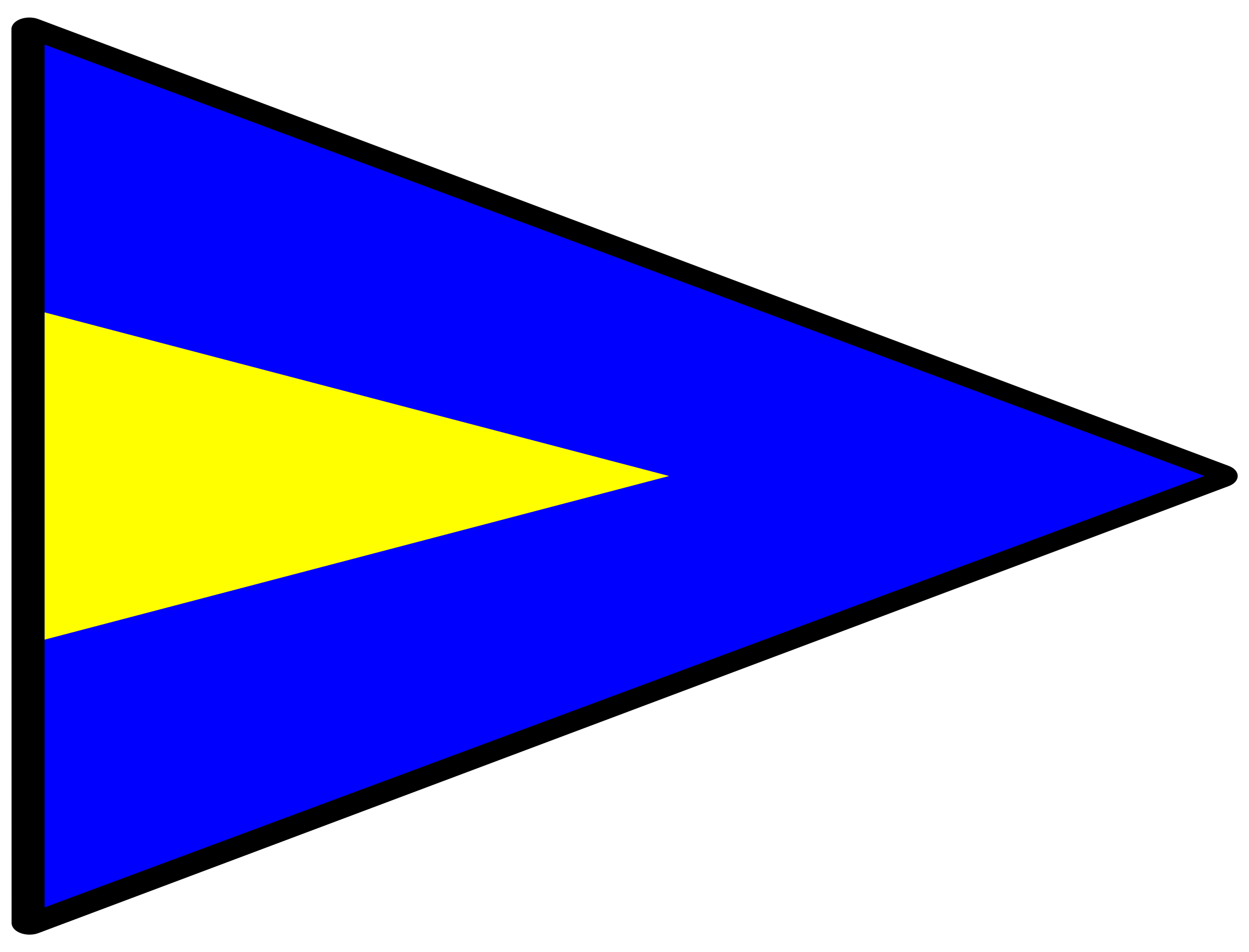 signal flag alt 1st by Anonymous