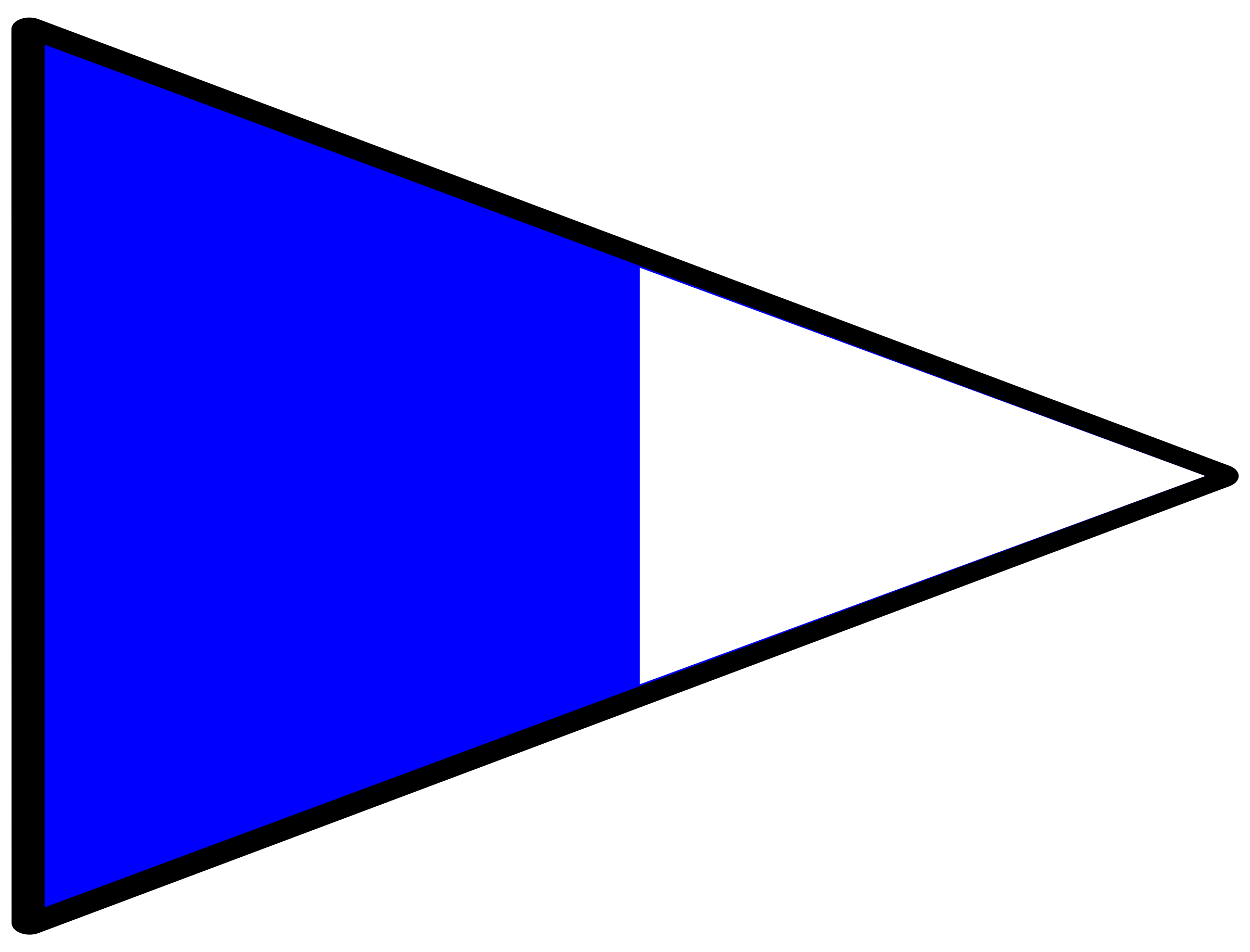 signal flag alt 2nd by Anonymous