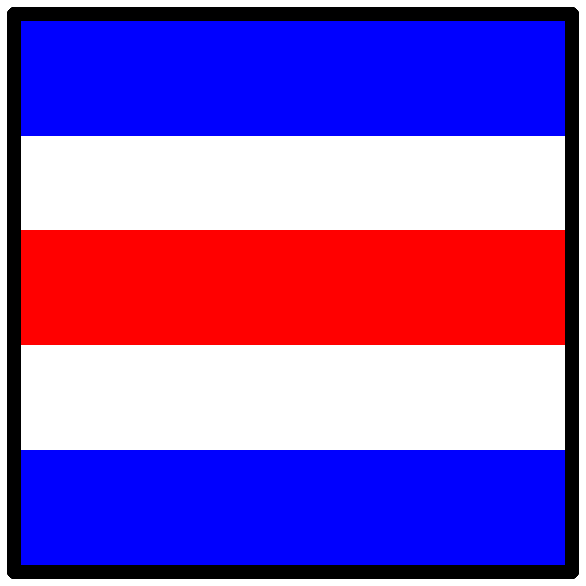 signal flag charlie by Anonymous