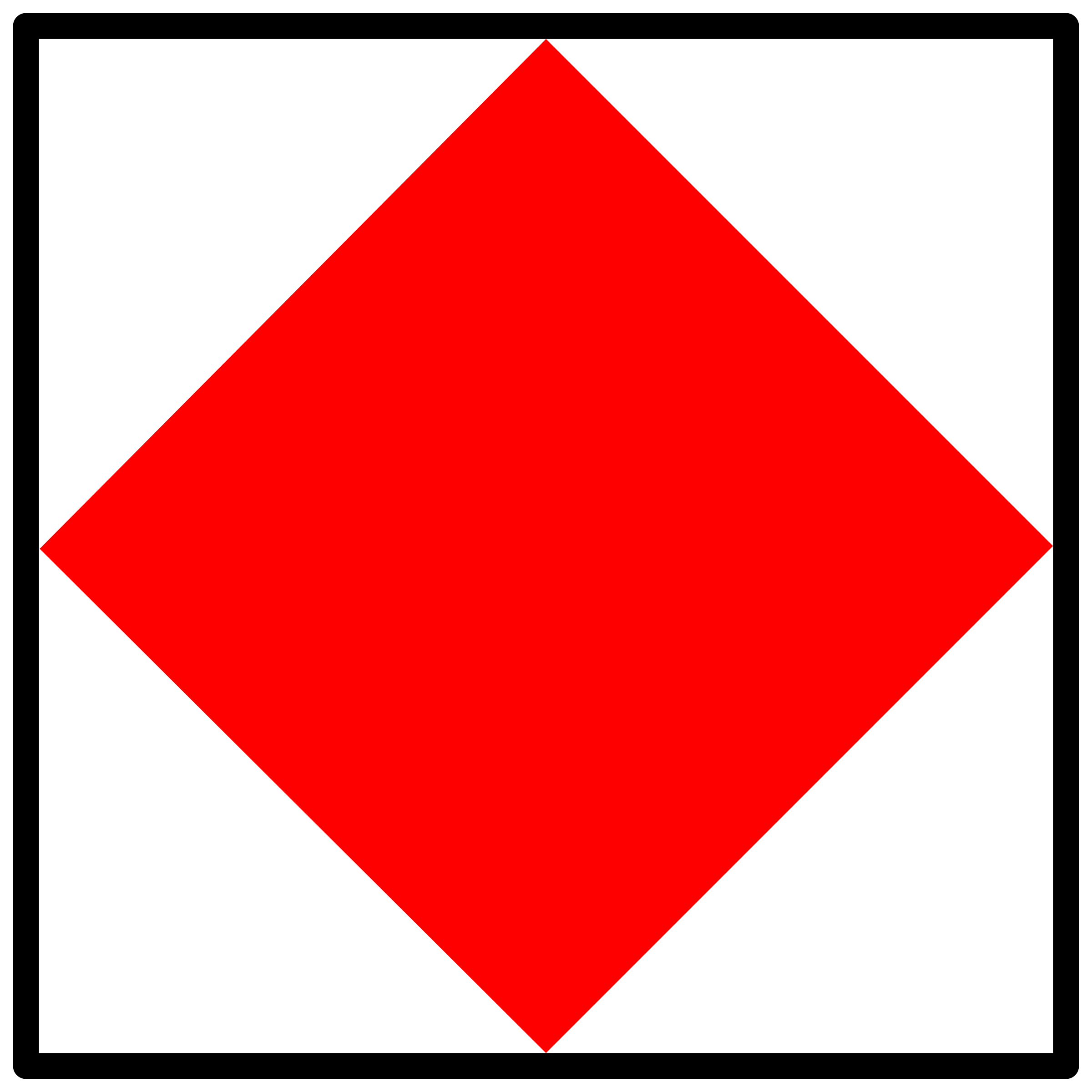signal flag foxtrot by Anonymous
