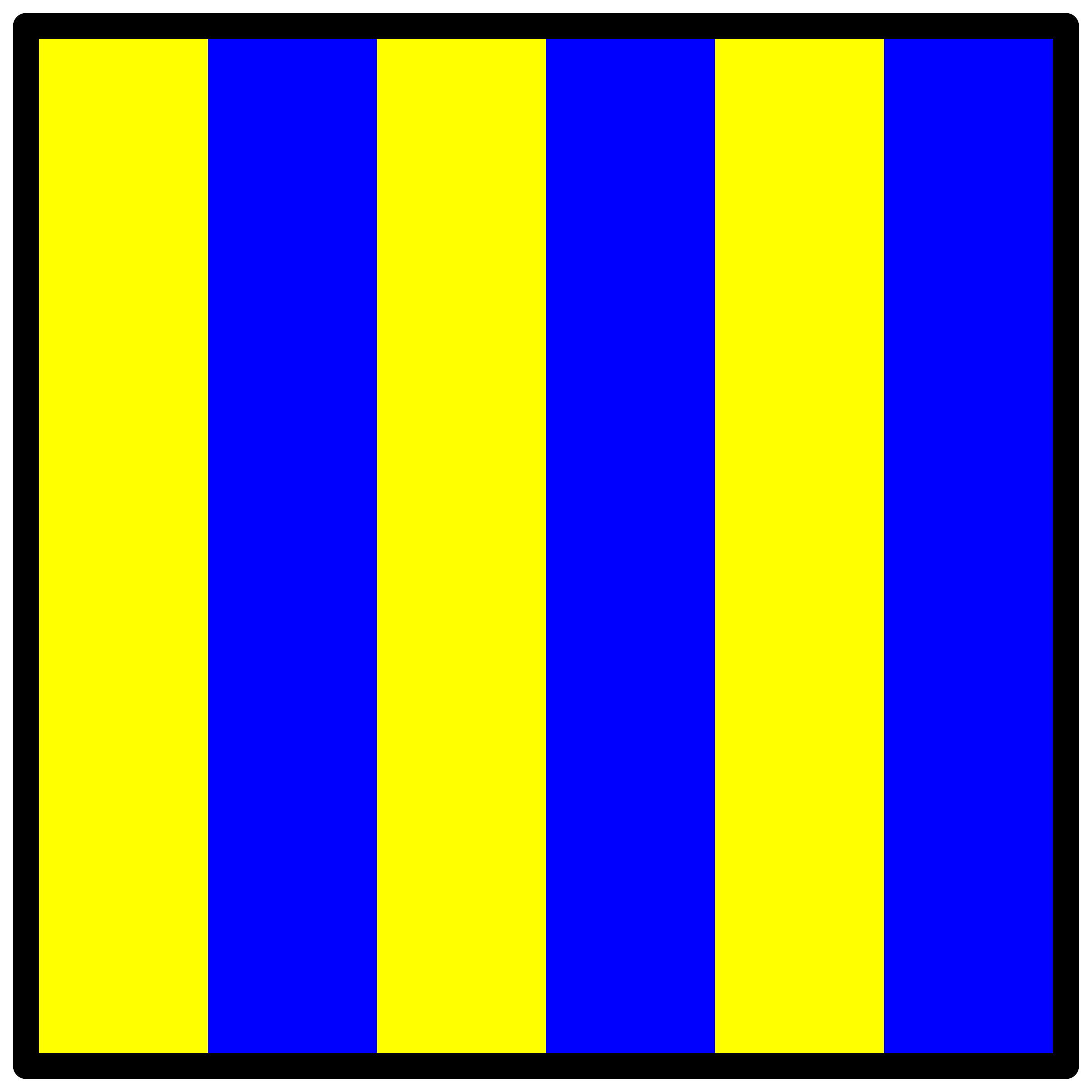 signal flag golf by Anonymous