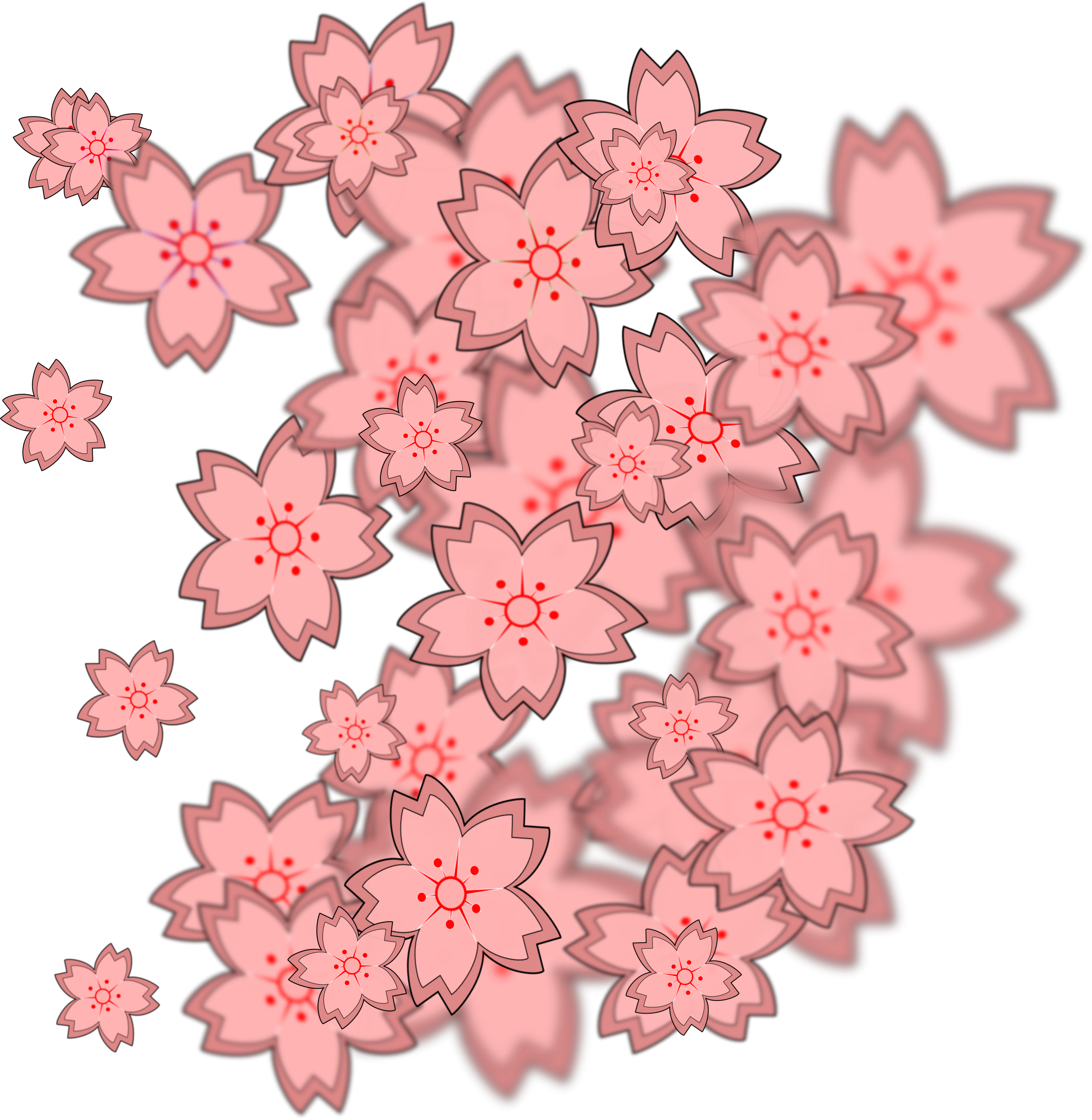 tile effect sakura 2 by ovideva