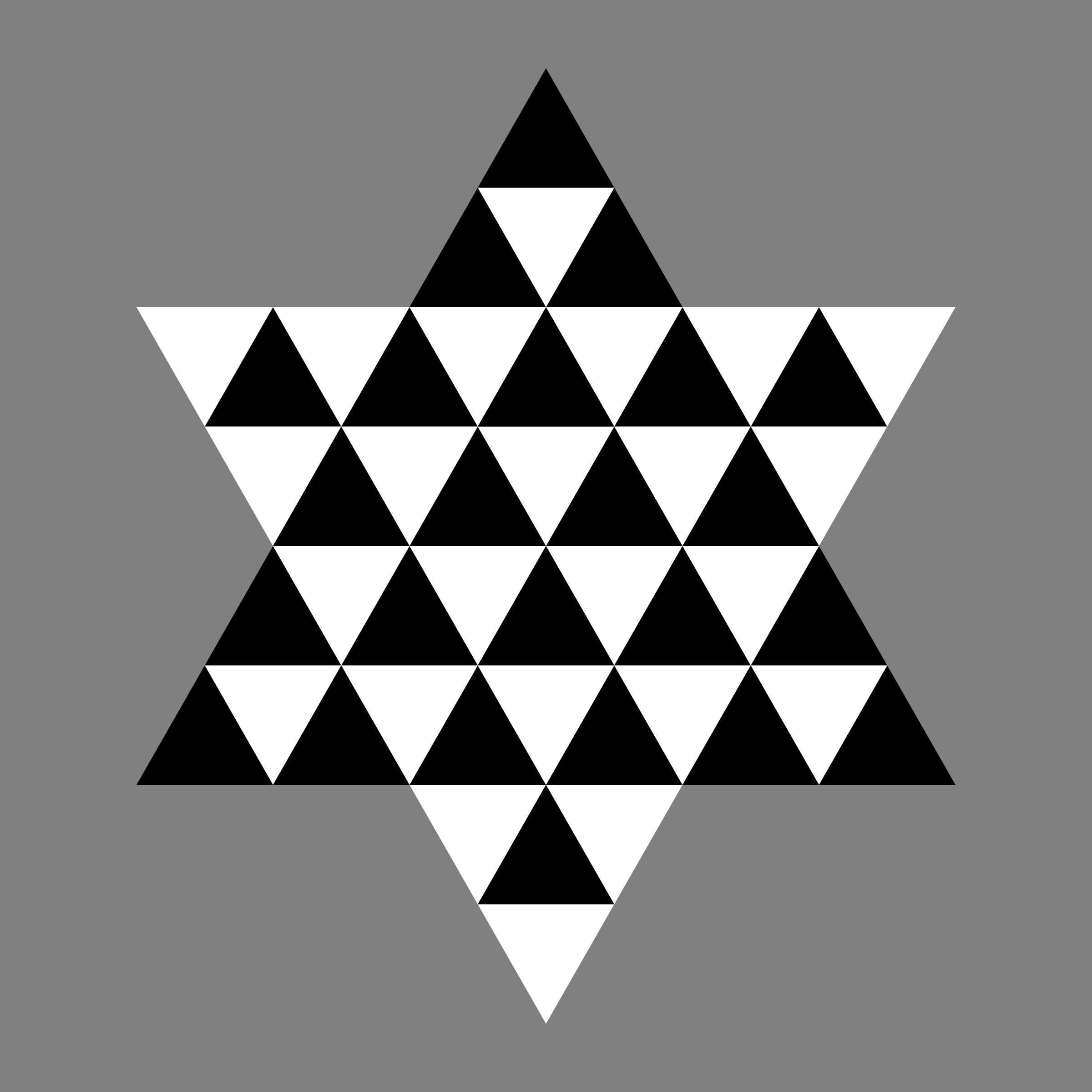 triangle hexagram by 10binary