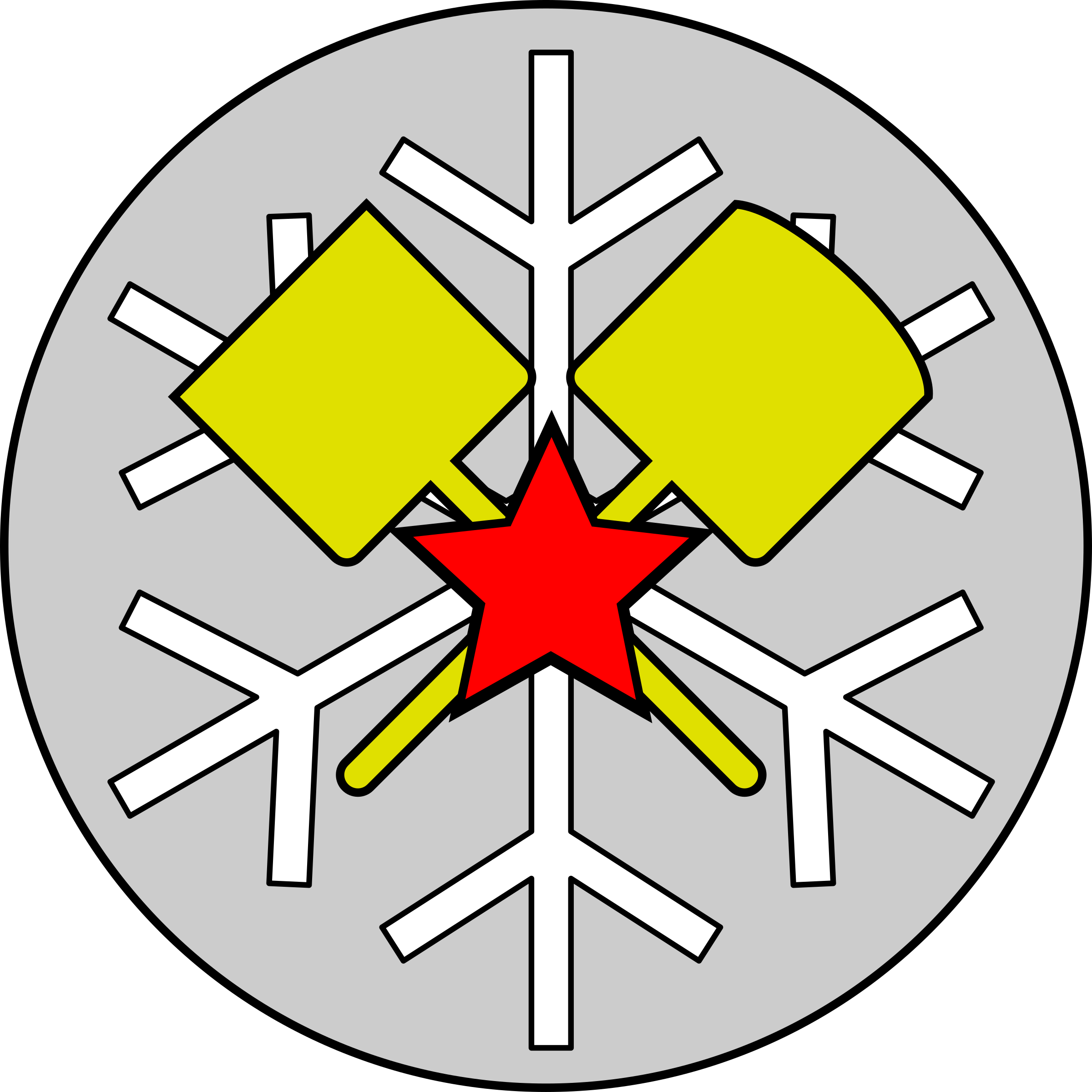 Snow-removal Troops Emblem - Full version by rones