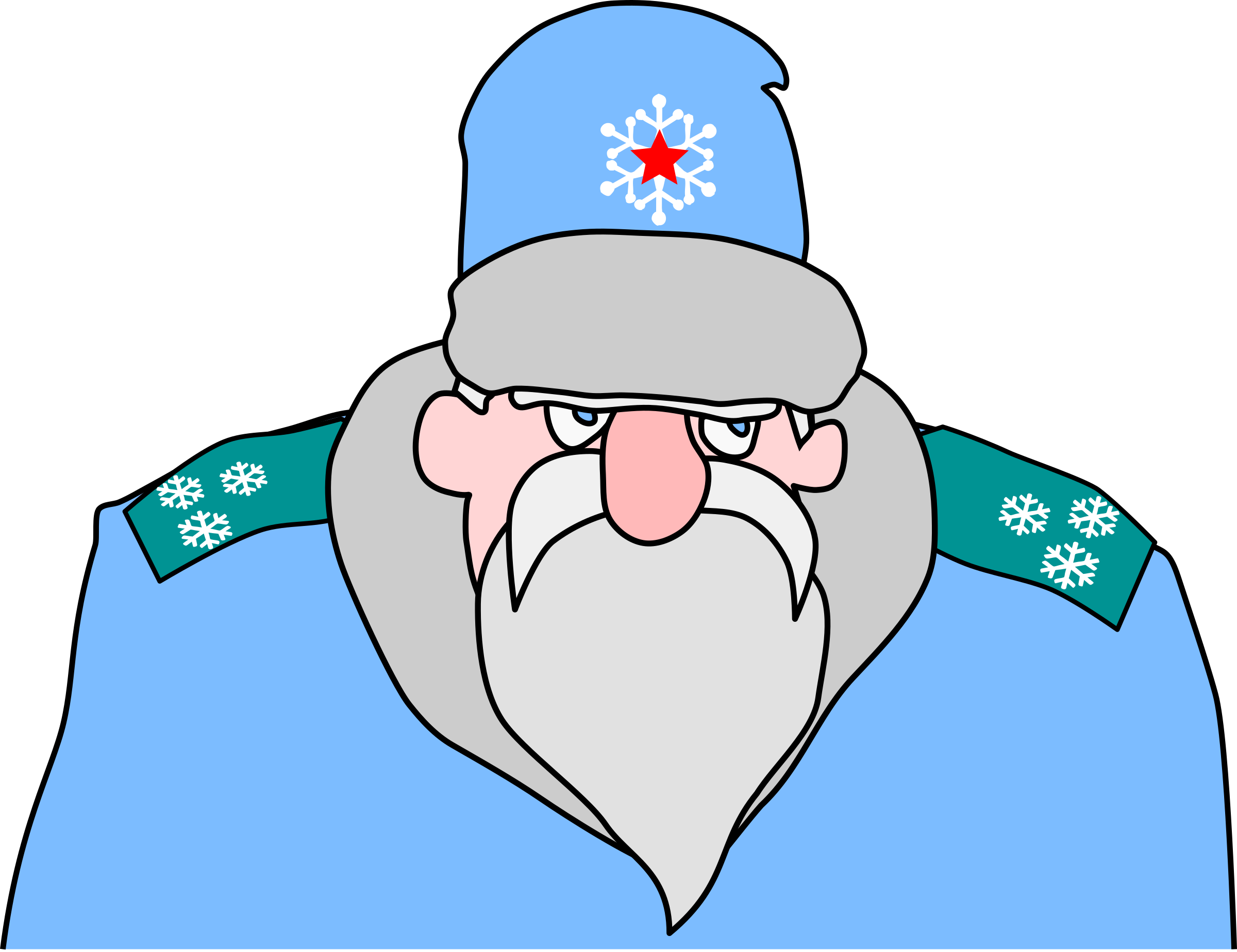 Colonel Frost - russian military Santa Claus by rones