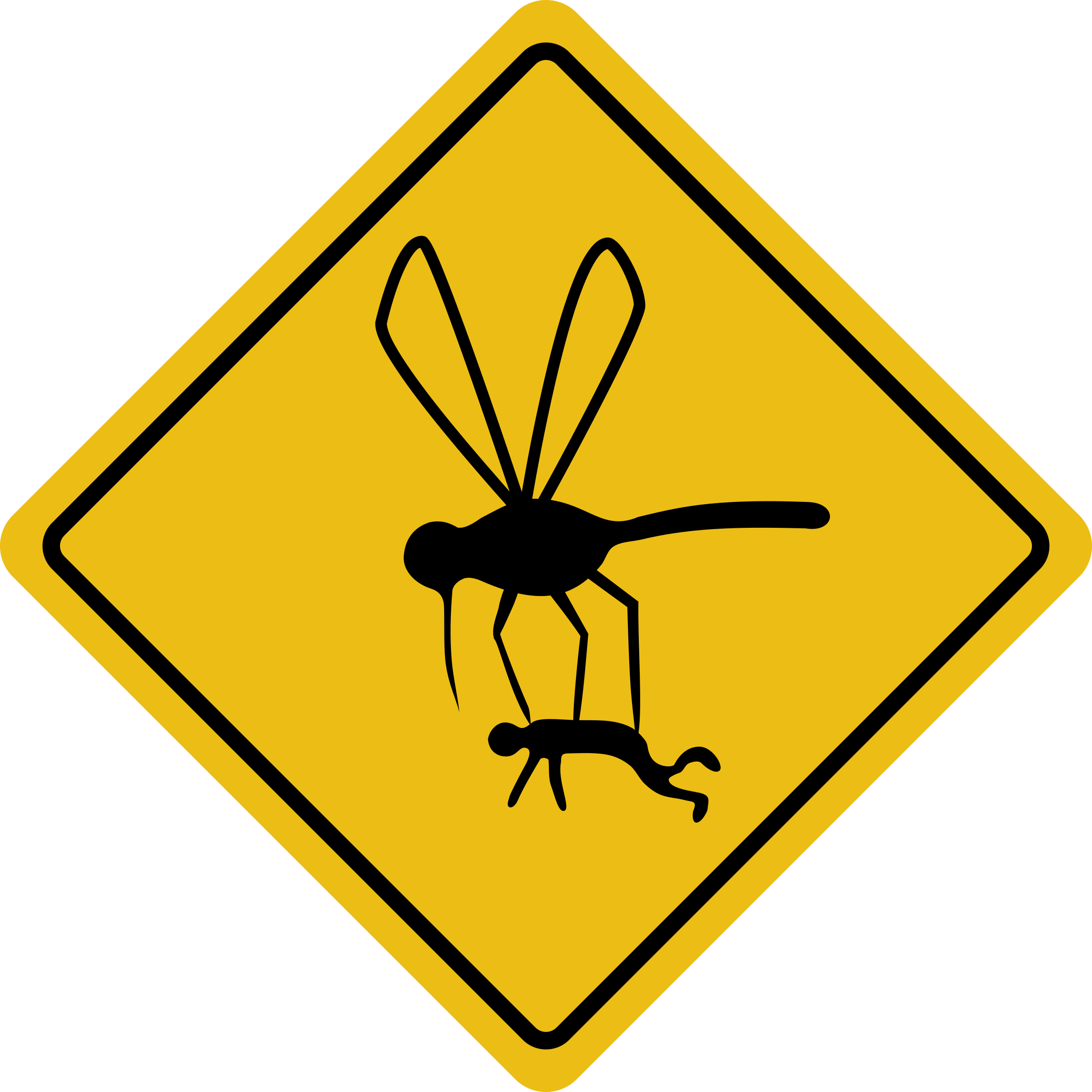 Mosquito hazard by rones