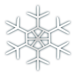 Snow flake icon 4 by netalloy - Snow flake icon