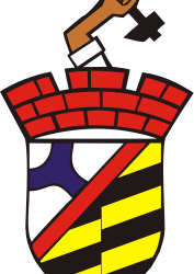 Sosnowiec - coat of arms by warszawianka - Coat of arms of Polish city of Sosnowiec. Public domain. Submitted to Wikimedia Commons by user Stimoroll.