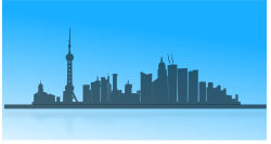 Shangai city skyline by netalloy -