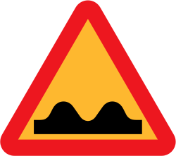 Ryanlerch speed bump sign