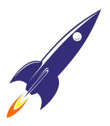 R is for Rocket by marauder - An easy Retro 60s Rocket