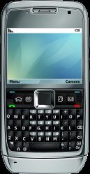 Smartphone e71 by Maddrum - E71 vetorizado no Inkscape em 2009