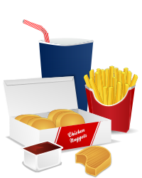 Fast Food Menu by gnokii -