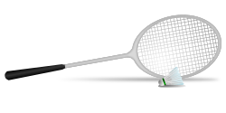 Badminton by  gnokii ( https://openclipart.org/user-detail/gnokii )