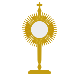 Monstrance Clip Art http://openclipart.org/detail/161029/blessed-sacrament-by-centroacademico-161029