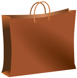 Brown bag by Ehecatl1138 - Brown bag for shopping. Bolsa marr�n de compras.