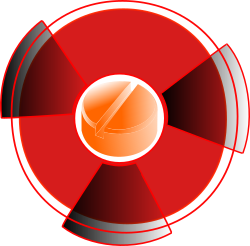 Atomic Pill by cibo00 - This is a pill surrounded of the nuclear sign. It means that if there is an accident, pills are available to protect citizens' health. Although Nuclear Power is a secure method of producing electricity, each Swiss citizen who lives within 20 km of a nuclear plant receives a pack of Potassium Iodine. Information (1) http://en.wikipedia.org/wiki/Potassium_iodide / Information (2) http://www.mandcgroup.ie/iopen24/blog.php?blog_id=153 Information (3) http://saveourbones.com/iodine-your-thyroid-and-your-bone-health/