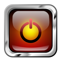 Icon Red Multimedia Power by roshellin - Icono multimedia
