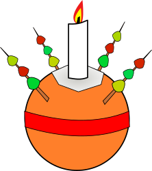 Christingle by davosmith - A Christingle as used in many Christian traditions in the run up to Christmas - http://en.wikipedia.org/wiki/Christingle