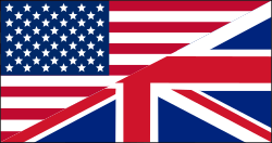 US/UK flag by klainen - English language flag.
