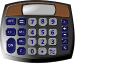 calculator by hatalar205 - calculator clipart