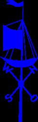 Vane ship by rones