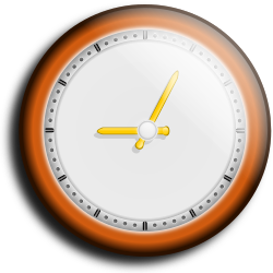 wall clock by hatalar205 - A simple wall clock clipart