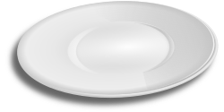 plate by hatalar205 - A simple plate clipart.