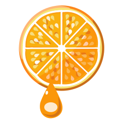 FreshOrange by yoshihiro - This is a fresh orange.