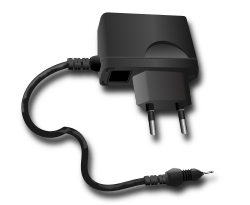 telephone charger by hatalar205 - A simple telephone charger clipart.