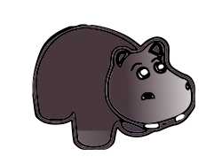 Hippo by ksrujana96 - created by swecha developer and contributer Srujana