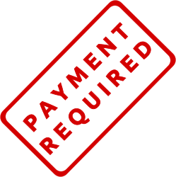 Merlin2525 payment required business stamp 1