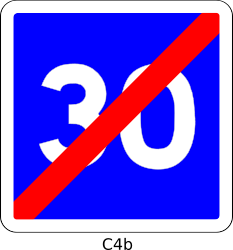 C4b_30 by Desmoric - Road, Sign, France