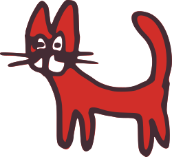 cat by global quiz - funny red cat