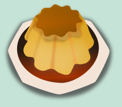 Alanspeak creme caramel